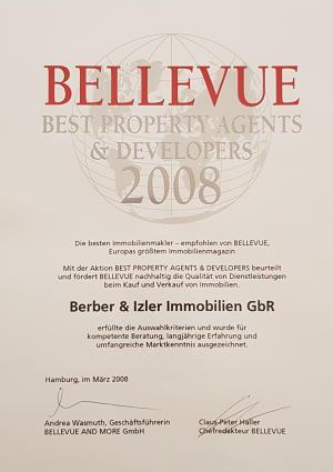 Auszeichnung Bellevue 2008